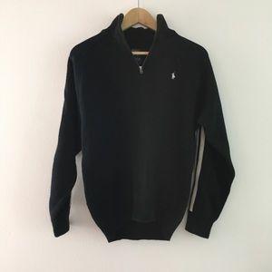 Polo by Ralph Lauren half zip up striped Jacket